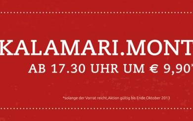 Kalamari-Montag